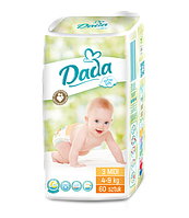 Детские Подгузники Dada Extra soft 3 MIDI (4-9 КГ ) 60шт