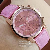 Женские наручные часы Geneva Gold/Pink