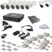 Комплект видеонаблюдения Tecsar 8OUT MIX2