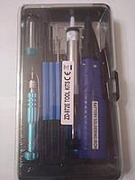 Набор ZD-972Е (паяльник 4,5V 8W подставка припой отвертка оловоотсос)