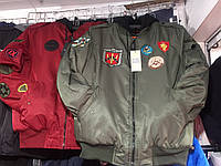 Куртка мужская на синтепоне батал 52-56р летная