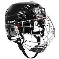 Шлем с маской для хокея CCM Resistance combo черный