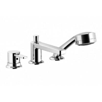 KLUDI ZENTA - врезной, однорычажный смеситель для ванны и душа на 3 отверстия DN 15, хром 384460575