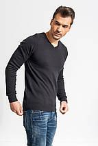 Пуловер Glo-story в черном цвете, фото 2