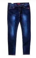 Джинсы женские большой размер синие 31-38