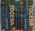 Батарейка Toceba R20