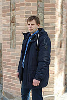 Куртка мужская утепленная мехом