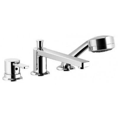 KLUDI ZENTA - врезной однорычажный смеситель для ванны и душа на 3 отверстия DN 15, хром 384470575