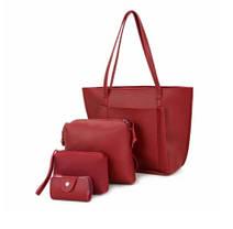 Стильний набір жіночих сумок 4в1, фото 3