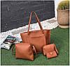 Стильный набор женских сумок 4в1, фото 4