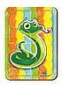Деревянный паззл, 4 детали «Змейка»