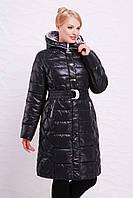 Длинная теплая куртка 52,54