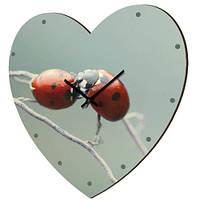 Настенные часы-сердце (10 фото)