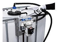 Мини заправка для перекачки AdBlue ( мочевины, карбамида, присадки к топливу) с счетчиком PIUSI Италия