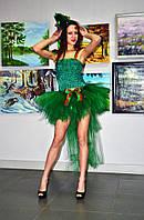 Карнавальный костюм ёлочки юбка со шлейфом
