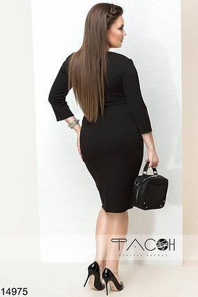 Платье с контрастными вставками, фото 2