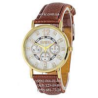 Женские наручные часы Geneva Diamond Brown