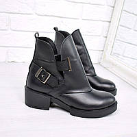 Женские кожаные ботинки Diesel, фото 1