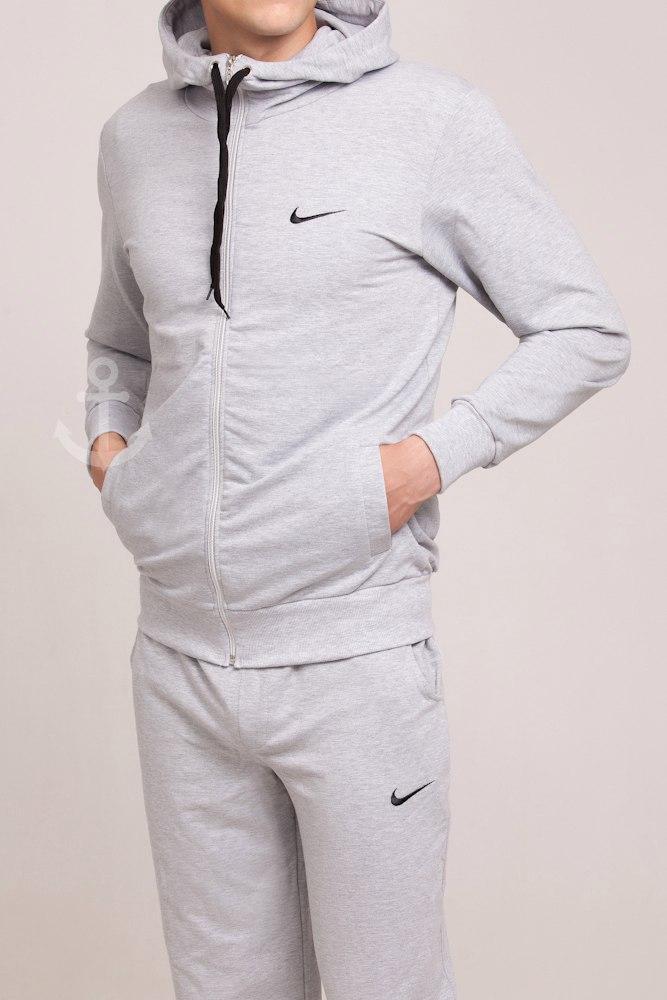 Мужской спортивный костюм Nike серый (осень)  - Обувь и одежда с доставкой по Украине в Киеве