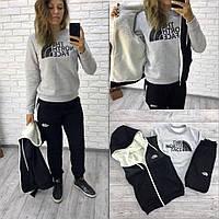 Женский теплый спортивный костюм опк2142