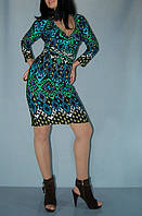 Платье Nine West c бирюзовым орнаментом (XS/S)