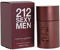 Carolina Herrera 212 Sexy 100ml men. Туалетная вода Оригинал