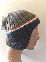 Утепленные флисом шапочки для мальчиков от C&A Германия размеры 122-152  рост ребенка, фото 1