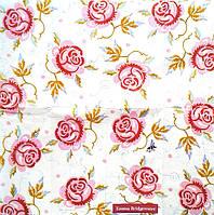 Салфетка для декупажа Розы 21*21 см, 1 шт
