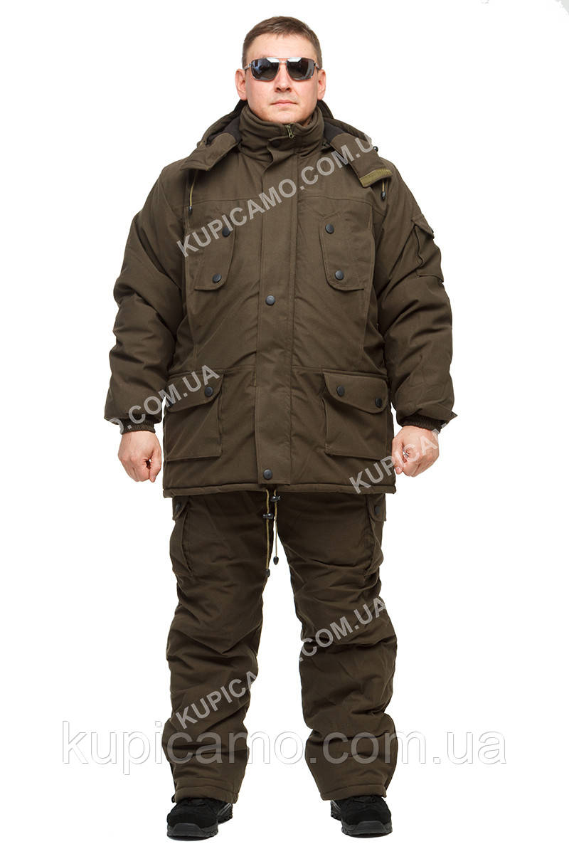 """Костюм """"Гризли"""" зимний -30 для рыбаков и охотников"""