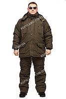 """Зимний комплект одежды """"Олива-хаки"""" до -30℃ размер 48-50"""