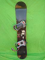 Сноуборд Atomic socks 158 см + кріплення salomon