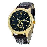 Наручные часы Rolex B68 Brown-Gold-Black (реплика)