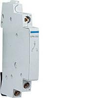 Дополнительный контакт для центрального управления 230В/24В, 0.5м, Hager EPN050