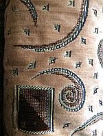 Мебельная ткань светло коричневая