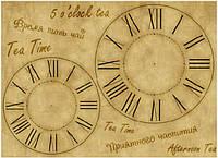 Карта декупажная Tea Time 30,8*44см 45г/м2 Cheap-Art 69201137