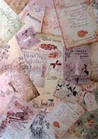 Карта декупажная Вишневый пирог 30,8*44см 45г/м2 Cheap-Art