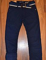 Школьные брюки на флисе, утеплённые 134-164р