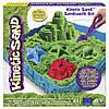 Набор Кинетического песка - Kinetic San Замок из песка Kinetic Sand 71402G зеленый