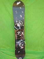 Сноуборд Distriot 156 см + кріплення Atomic
