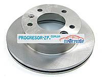 Тормозной диск передний на Мерседес Спринтер 208-416 1995-2006 MEYLE (Германия) 0155212032