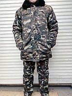 Зимние камуфляжные штаны