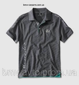 Футболка-поло Mercedes Poloshirt Herren Graphit