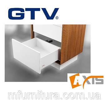 Выдвижной ящик Axis, 450 мм - высокий, белый - GTV (Польша)