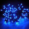 Уличная светодиодная гирлянда, цвет синий