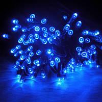 Уличная светодиодная гирлянда, цвет синий, фото 1