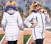 Зимняя куртка женская большого размера недорого в интернет-магазине Украина Россия ( р. 46-52 )