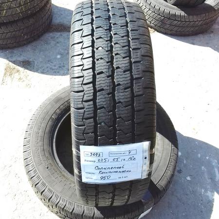 Бусовские шины б.у. / резина бу 225.65.r16с Continental Vanco Four Season 2 Континенталь