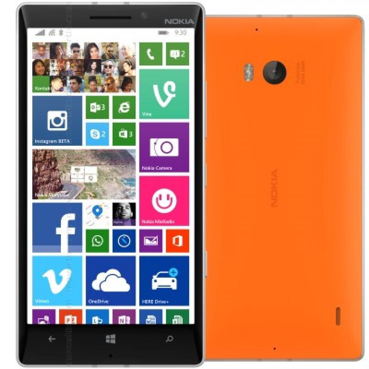 Cмартфон Nokia Lumia 930 Orange Win10, FHD, 20MP 2\32gb Quad core 2.2 GHz2420 mAh  + подарки