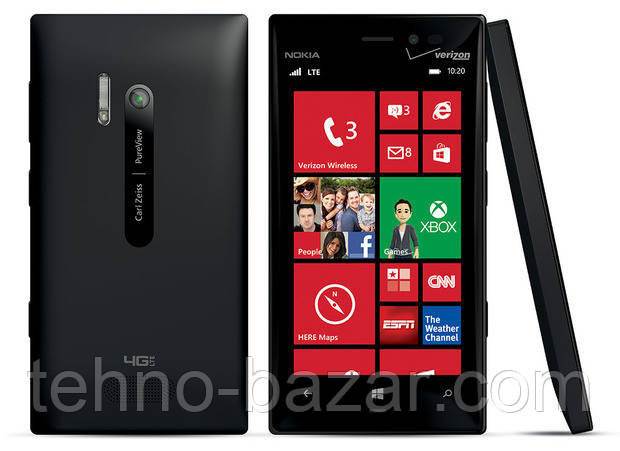 Смартфон Nokia Lumia 928 Black  1\32gb Win 10 Оригинал + подарки