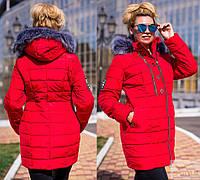 Зимняя куртка женская большого размера недорого в интернет-магазине Украина Россия ( р. 48-52 )